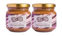 Promo 2: 2 Mantequillas De Almendras 100% Natural 185 Gramos