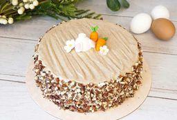 Torta Mediana de Zanahoria Pascua