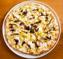 Pizza de Queso De Cabra y Poro Personal