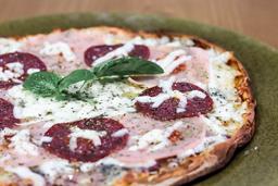 Pizza de Salame y Jamón Personal