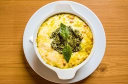 Lasagna al  Pesto De albahaca