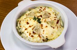 Lasagna De alcachofa y Champiñón