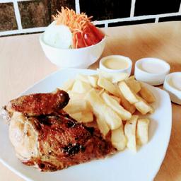 ¼ Pollo a la Brasa