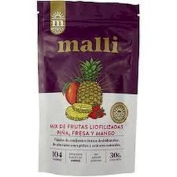 Malli Mix de Frutas Liofilizadas Piña, Mago y Fresa