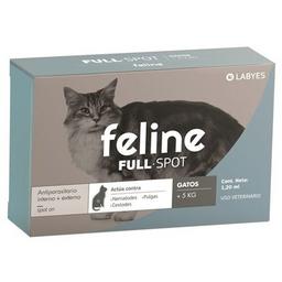 Feline Solución Tópica 1.20 mL (11 g / 0.2 g / 7.5 g)