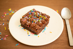 Brownie con Topping