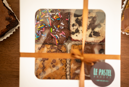 Cajita Brownies x 4