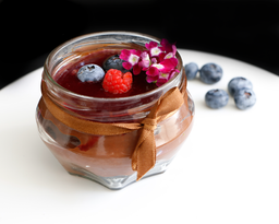 Mini Jar Chocoberries