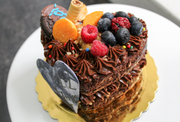 Mini Brownie Cake