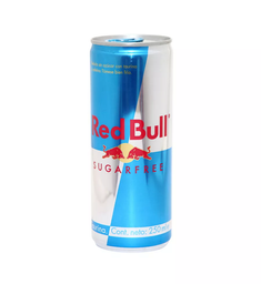 Red Bull Sugar Free 250 ML.