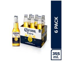 Corona Six Pack Botella 355 Ml.