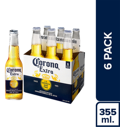 Corona Six Pack Botella 355Ml