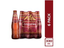 Cusqueña Red Lager Six Pack