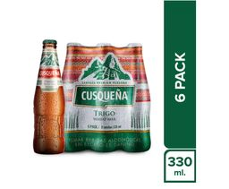 Cusqueña Six Pack Trigo 330 Ml.