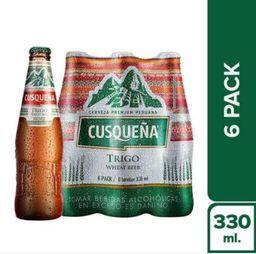 Cusqueña Six Pack Trigo Botella 330Ml
