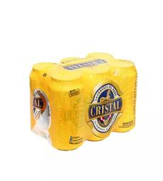 Cristal Six Pack Lata 355 ML.