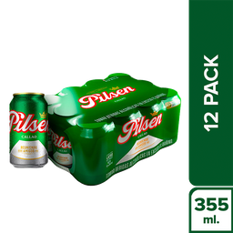Pilsen Twelve Pack Lata 355 Ml