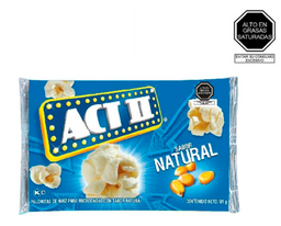 Act Ii Pop Corn Natural 91 G.