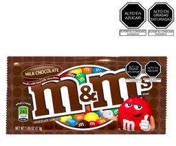 M&M Plain Chocolate 47.9 G.