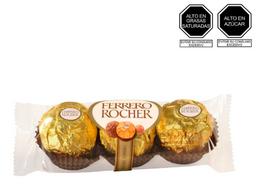 Ferrero Rocher x3 unidades 37.5 g
