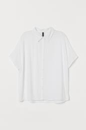 H&M Blusa White Light White 005