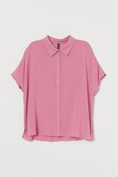 H&M Blusa Pink Medium Rosa 001