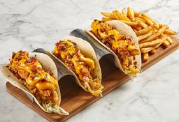Bacon & Cheese Chicken Tacos