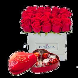 Arreglo Floral Box Paris