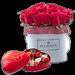 Arreglo Floral Box Cabuchón