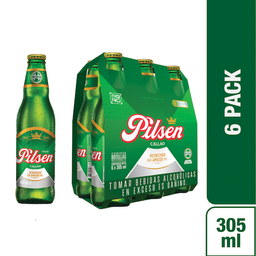 Pilsen Callao Cerveza 6 Pack