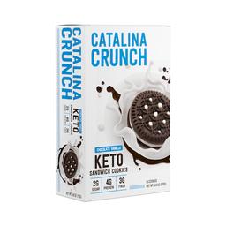 Catalina Crunch Galleta Sándwich Cookie Chocovainilla
