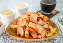 Bacon + Frankfurter