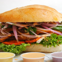 Sándwich de Asado de Chancho