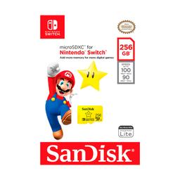 Nintendo Microsdxl Para Switch 256 Gb