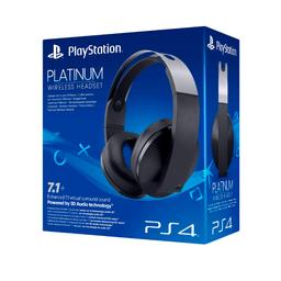 Sony Audífonos Wireless Headset Platinum PlayStation 4