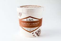 Helado LArt Hazelnut Crunch