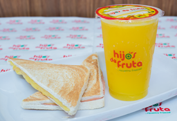Combo Sándwich Mixto y Jugo Light Grande