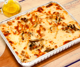 Lasagna Pollo y Champiñones 1 Kg.