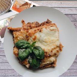 Lasagna Familiar de Carne