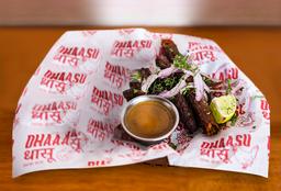 Carne Seekh Kebab (Grill de Carne Molida)