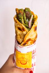 Carne Seekh Kathi Roll (Enrollado de Carne)