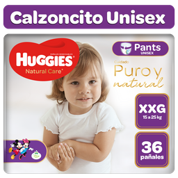 Huggies Natural Care Pants Unisex Xxg