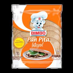 Pan Bimbo Pita Integral 10 U