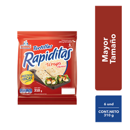 Tortillas Rapiditas Bimbo Wraps