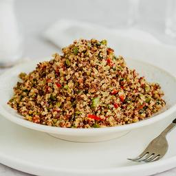 Chaufa de Quinoa & Verduras Del Huerto