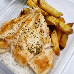 Pollo a la Pancha (menú)