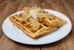 Waffle de Pera Glaseada