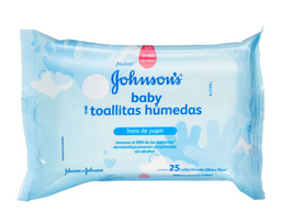 Johnsons Baby Toallitas Humedas Hora Jugar