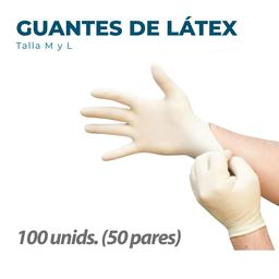 BeeSure Guantes de Látex