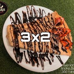 Crepes Frutados 3x2